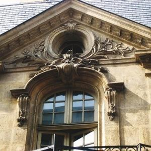 Gable detail