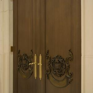 Carved Oak Doors